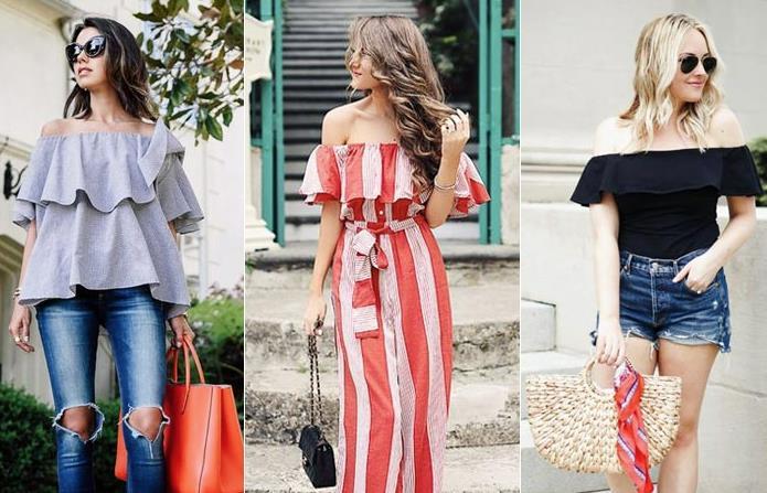 Gaya Mix and Match Baju Sabrina untuk Look yang Kekinian